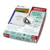 Project Folders, Jacket, Letter, Poly, Clear, 25/Box
