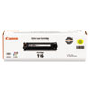 Canon 1977B001 (116) Toner, 1,500 Page-Yield, Yellow