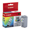 Canon BCI24 (BCI-24) Ink Tank, 130 Page-Yield, Tri-Color