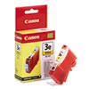 Canon BCI3EY (BCI-3E) Ink Tank, 520 Page-Yield, Yellow