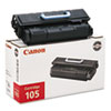 CART105 Toner, 10000 Page-Yield, Black