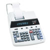CP1200D Two-Color Ribbon Printing Calculator, 12-Digit Fluorescent, Black/Red
