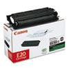 Canon E20 (E-20) Toner, 2000 Page-Yield, Black
