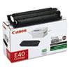 Canon E40 (E-40) Toner, 4000 Page-Yield, Black