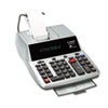 MP25DVS Two-Color Ribbon Printing Calculator, 12-Digit Fluorescent, Black/Red