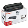 X25 (X-25) Toner, 2500 Page-Yield, Black