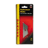 Heavy-Duty Utility Knife Blades, 10/Pack