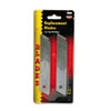 COSCO Snap Blade Utility Knife Replacement Blades, 10/Pack
