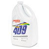 Cleaner/Degreaser, Floral Scent, 1gal Bottle, 4/Carton