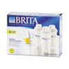 Brita Pitcher Replacement Filters, 3/Pack
