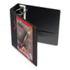 Cardinal EasyOpen ClearVue Locking Slant-D Ring Binder, 4