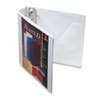 Cardinal SuperStrength ClearVue Locking Slant-D Ring Binder, 2