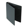 "Heavyweight Vinyl Slant-D Ring Binder, 1"" Capacity, Black"