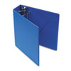 "Heavyweight Vinyl Slant-D Ring Binder, 3"" Capacity, Blue"