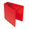 "Heavyweight Vinyl Slant-D Ring Binder, 3"" Capacity, Red"