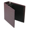 "Heavyweight Vinyl Slant-D Ring Binder, 3"" Capacity, Maroon"
