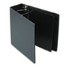 Heavyweight Vinyl Slant-D Ring Binder, 4&quot; Capacity, Black