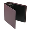 "Heavyweight Vinyl Slant-D Ring Binder, 4"" Capacity, Maroon"