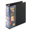 Cardinal Spine Vue Locking Round Ring Binder, 3