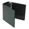 "EasyOpen Slant D-Ring Binder, Finger Slot, 5"" Cap, Black"
