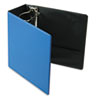 "EasyOpen Slant D-Ring Binder, Finger Slot, 5"" Capacity, Medium Blue"