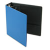 "EasyOpen Locking Round Ring Binder, 11 x 8-1/2, 3"" Capacity, Medium Blue"