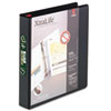 Cardinal XtraLife ClearVue Non-Stick Locking Slant-D Ring Binder, 1-1/2