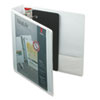 "ClearVue XtraLife Slant-D Presentation Binder, 2"" Capacity, White"