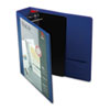 XtraLife ClearVue Locking Slant-D Ring Binder, 2&quot;, 11 x 8-1/2, Blue