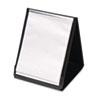 Cardinal ShowFile Vertical Display Easel, 20 Letter-Size Sleeves, Black