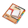 Cardinal Traditional OneStep Index System, 31-Tab, 1-31, Letter, Assorted, 31/Set