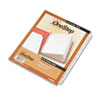 Cardinal Traditional OneStep Index System, 26-Tab, A-Z, Letter, White, 26/Set