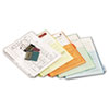 Ring Binder Divider Pockets With Index Tabs, Letter, Assorted Colors, 5/Pack