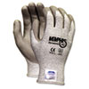 Memphis Dyneema Polyurethane Gloves, Large, White/Gray