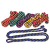 Champion Sports Braided Nylon Jump Ropes, 8-ft., 6 Assorted Color Jump Ropes/Set