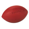 Coated Foam Sport Ball, For Football, Playground Size, Brown