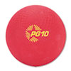 "Playground Ball, 10"", Red"