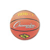 Champion Sports Rubber Sports Ball, For Basketball, No. 7, Official Size, Orange