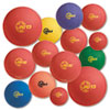 Playground Ball Set, Multi-Size, Multi-Color, Nylon, 12/Set