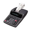 FR-2650TM Two-Color Printing Desktop Calculator, 12-Digit Digitron, Black/Red