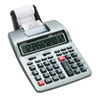 Casio HR-100TM Two-Color Portable Printing Calculator, Black/Red Print, 2 Lines/Sec