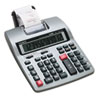 HR-150TM Two-Color Printing Calculator, 12-Digit LCD, Black/Red