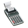 HR-8TM Handheld Portable One-Color Printing Calculator, 12-Digit LCD, Black