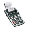 Casio HR-8TM Handheld Portable Printing Calculator, Black Print, 1.6 Lines/Sec