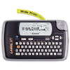 Casio KL-120 Label Maker, 1 Lines, 7-1/2w x 4-1/2d x 2-1/5h