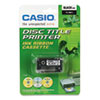 Casio TR18BU, TR18BK Thermal Ink Ribbons - CSO TR18BK