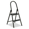 #560 Steel Qwik Step Platform Ladder, 16-7/8w x 19-1/2 Spread x 41h, Black
