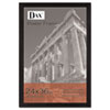 Black Plastic Poster Frame w/Plastic Window, Wide Profile, 24 x 36