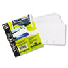 VISIFIX Double-Sided Business Card Refill Sleeves, 40/Pack