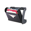 MegaOption Pocket Wall File, A4/Legal/Letter, Black